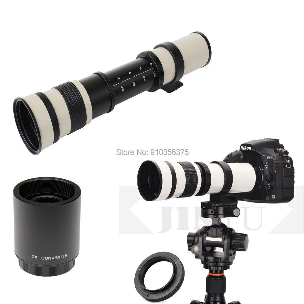 JINTU 420-1600 мм F8.3 объектив с ручным фокусом телеобъектив зум Prime для Sony E Mount A9 A7R3 A7R2 A7M3 A7M2 A7S2 A6500 A6300 A6000