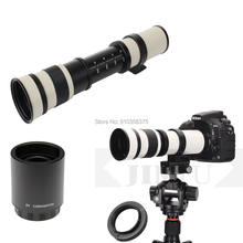 Jintu 420-1600mm f8.3 lente de foco manual telefoto zoom lente prime para sony e montagem a9 a7r3 a7r2 a7m3 a7m2 a7s2 a6500 a6300 a6000