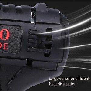 Image 5 - 36VF 1600 obr/min 50Nm 25 prędkości moment obrotowy podwójna prędkość wiertarka akumulatorowa śrubokręt z oświetleniem LED i wiertła