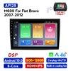 MEKEDE Android IPS DSP 8 çekirdekli Fiat Bravo için 2007 2008 2009 2010 2011 2012 araba radyo multimedya Video oynatıcı navigasyon GPS