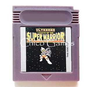 Ultraman Legend of the Super Warrior Video Game Memory Accessories Cartridge Card for 16 Bit Console
