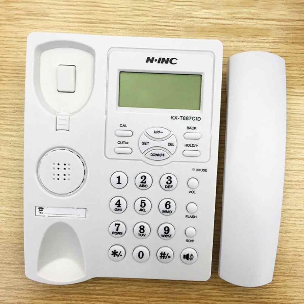 KX-887CID English LCD Caller ID Display Clock Alarm Home Office Hotel Telephone