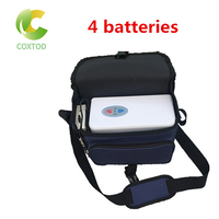 Coxtod 4 baterias genuíno concentrador de oxigênio portátil viagem em casa com recharger carro|Purificadores de ar| |  -