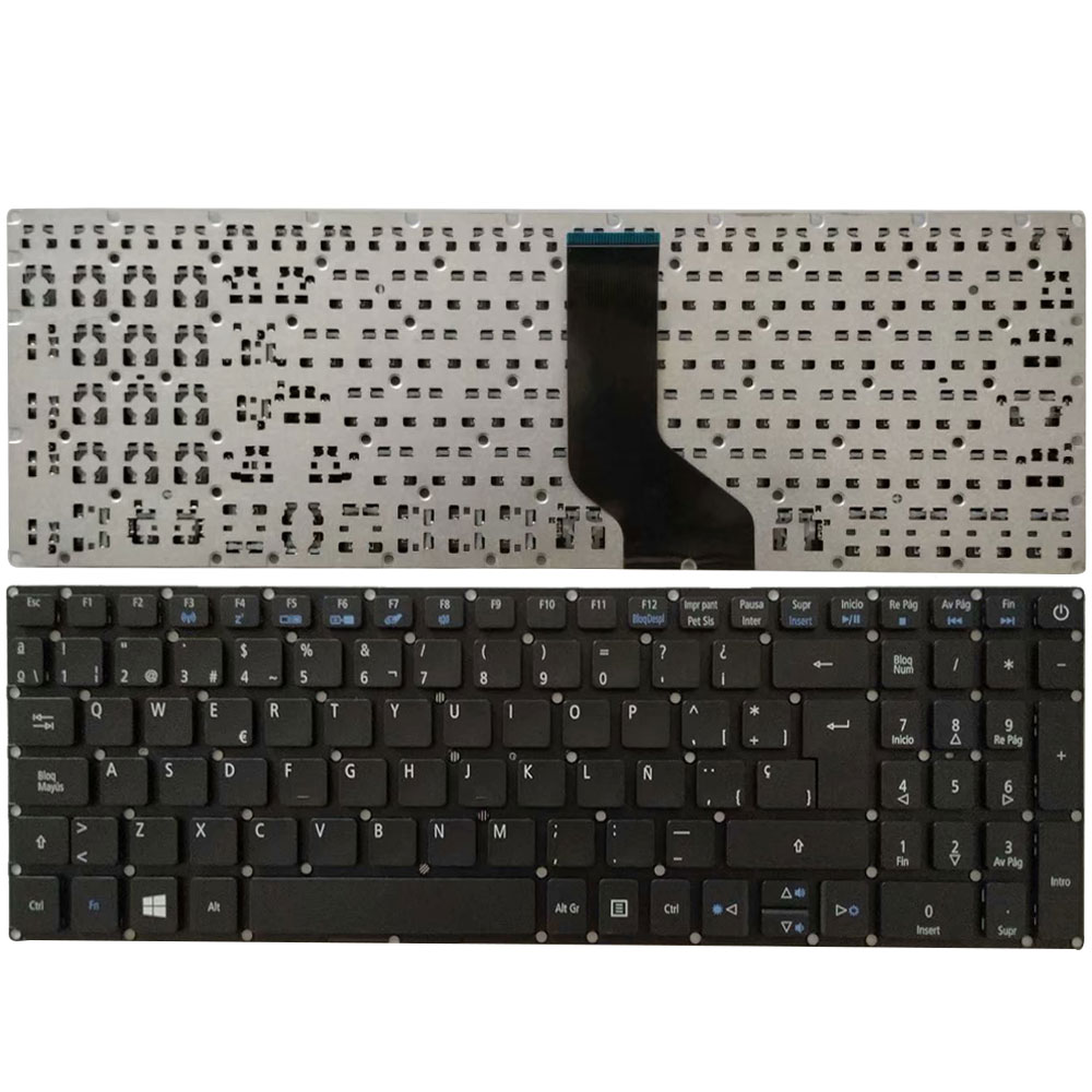 NEW Spanish Laptop Keyboard For ACER Aspire E15 E5-576 E5-576G E5-576G-5762 E5-576G SP Keyboard