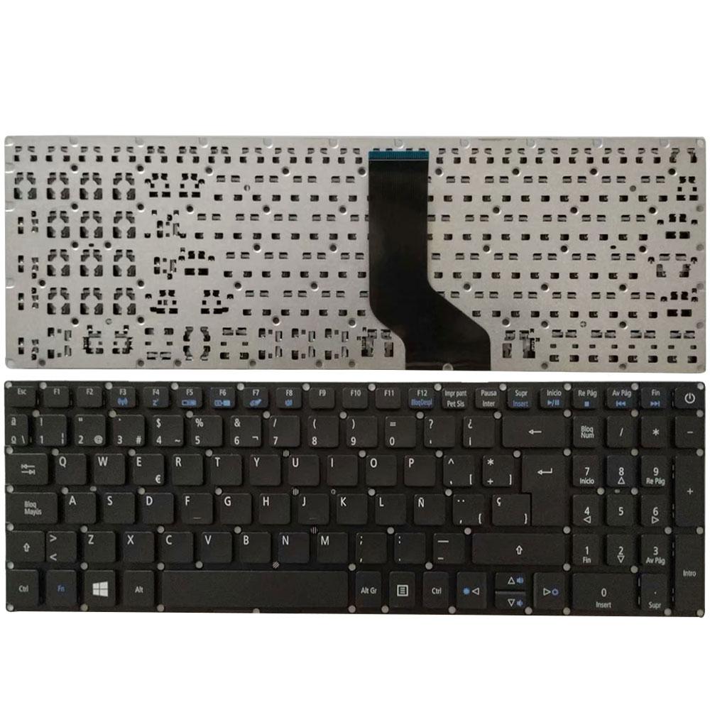 NEW Spanish Laptop Keyboard For ACER Aspire E15 E5-576 E5-576G E5-576G-5762 E5-576G SP Keyboard