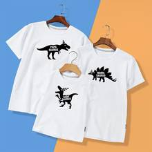 Одежда для мамы и дочки; папы матерью летние топы с принтом
