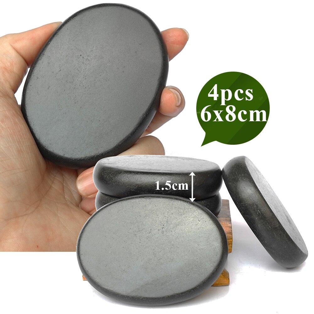 20pcs/set Hot stone massage body massage stone set Salon SPA with thick canvas bag CE and ROHS