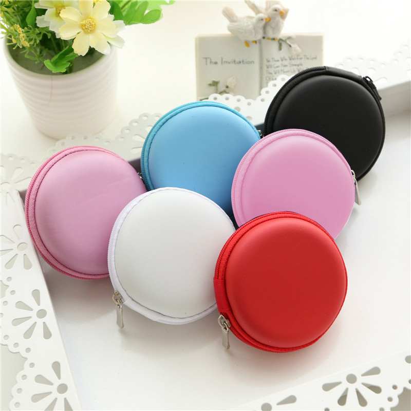 Mini Earphone Holder Case Storage Bag Camping Climbing Holding Box Storage Case Cover Travel Kits TF Card Earphones Case