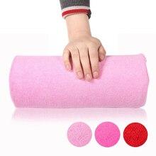 Колонна розовая практичная подушка для рук Подушка для нейл-арта акриловый УФ Гель-лак маникюрный салонный Инструмент аксессуары для ногтей