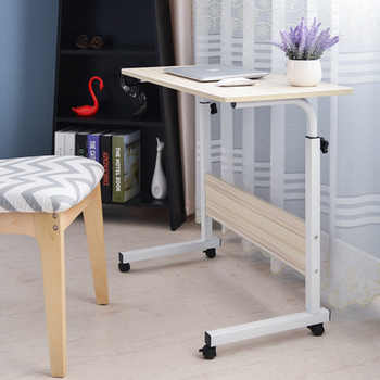 Laptop Desk for Bed Portable Computer Table Adjustable Laptop Movable Bed Table Can be Lifted Standing Desk 60*40CM - DISCOUNT ITEM  60 OFF Furniture