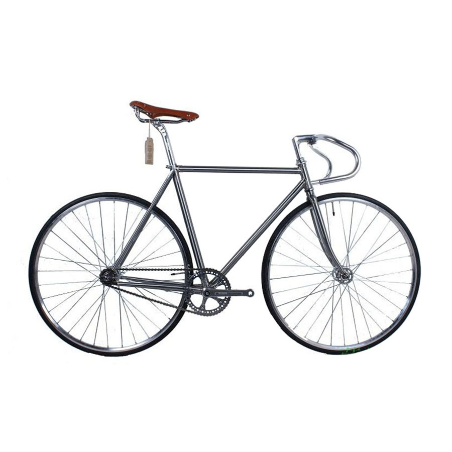 Fixed Gear Bike 4130 Chrome-molybdenum Steel Vintage Bike Frame Fixie Bike  Single Speed Bike Customize  50cm 52cm 58cm 60 Cm