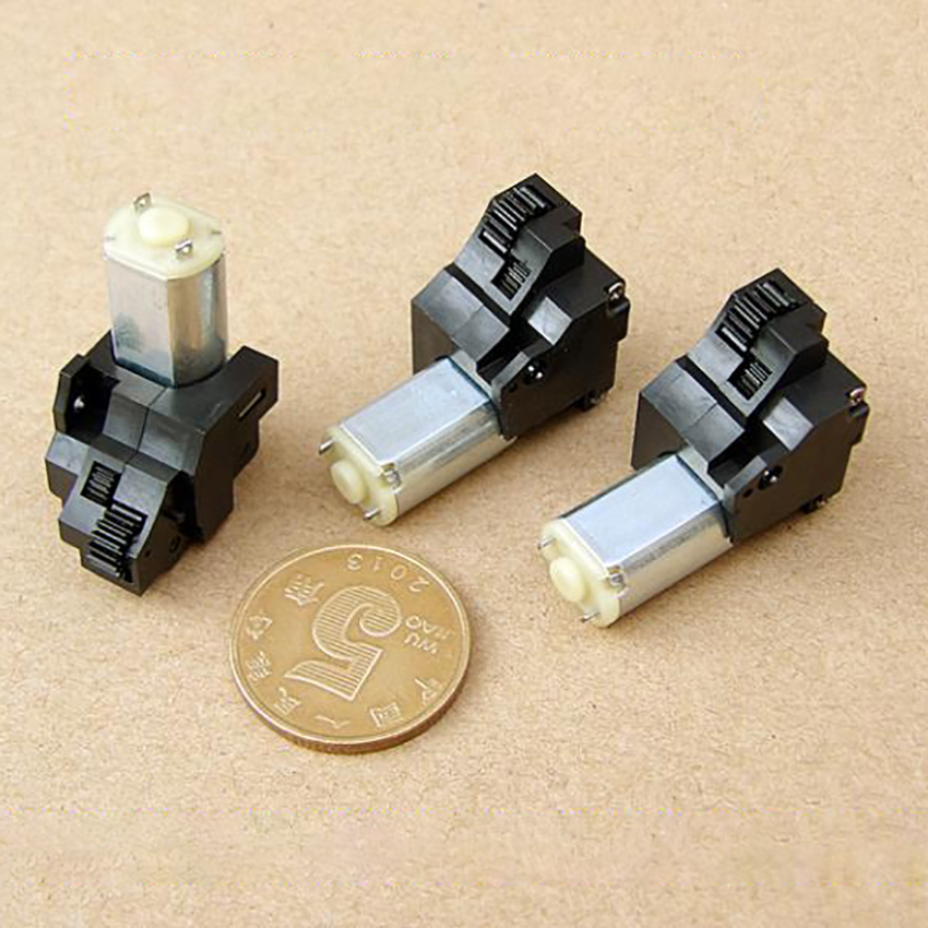 Miniatur Ausgerichtet Motor DC3V-5V Stille Hohe Drehmoment DIY Auto Modell Motor Digital Kamera Objektiv Einstellung Motor Hohe Präzision Getriebe
