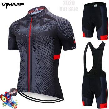 Nw conjunto completo de roupas para ciclismo, camisa de bicicleta, 2020, corrida de estrada, uniforme de bike, conjunto de roupas para mtb ciclismo 1