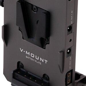 Image 3 - Tilta TA BTP2 V G BMPCC 4K 카메라 전원 공급 장치 용 15mm lws로드 어댑터 V 마운트 배터리 플레이트