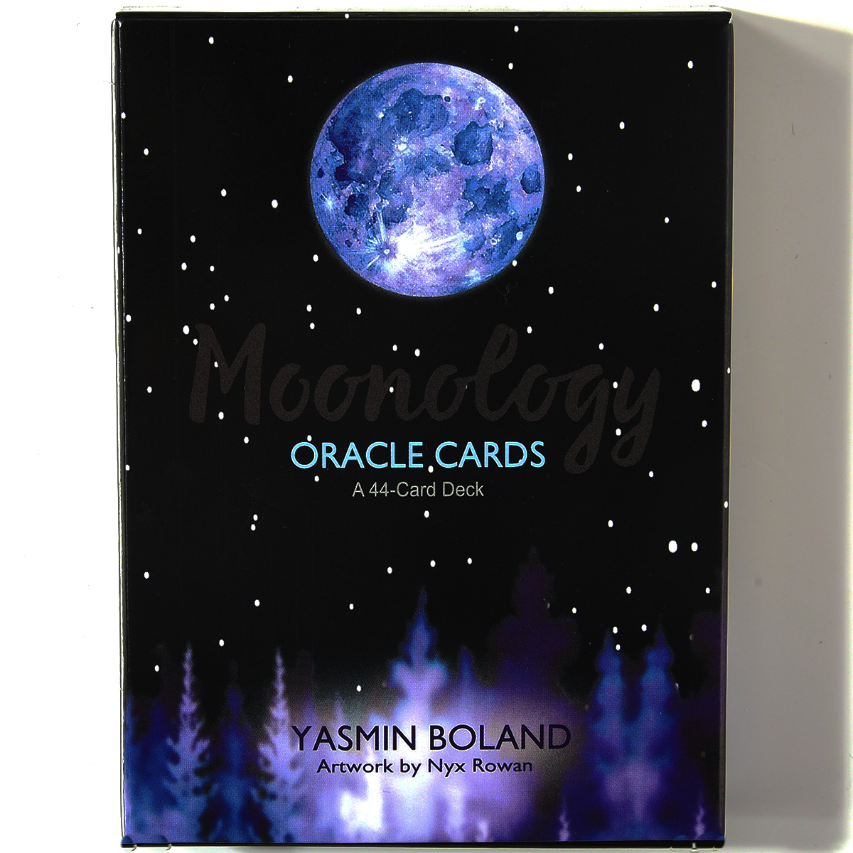 Moonology Oracle Cards A 44-Card Deck And Electronic Guidebook Tarot Card Game Toy  Moon's Power To Gain Clarity On Your Life