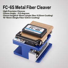 FC-6S High Precision Metal Fiber Cleaver Knife FTTX FTTH Optic Connector Optical Fiber Cable Cleaver Cutter Tool