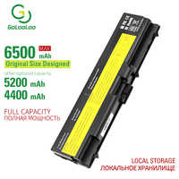 """Golooloo 6 cellules batterie d'ordinateur portable pour Lenovo ThinkPad E40 E50 Bord 14 """"Edge 15"""" E420 E425 E520 E525 L410 L412 L420 L421 L430"""