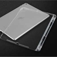 soft tpu Case for iPad 9.7 2017 2018 Air 1 2 Pro 9.7 TPU Silicone soft case cover For iPad mini 1 2 3 4 5 With pencil holder tablet case (2)