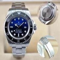 rolex- Luxury New Men Automatic Mechanical Watches Drive Ceramic Bezel Crystal Sapphire Sport AAA Watch 1224