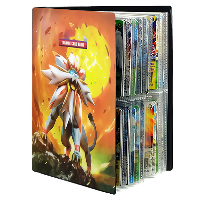 Pokemones Cards Game Vmax GX card Favorites Holder Album Toy Collections Book Top Loaded List Toy Gift for Children