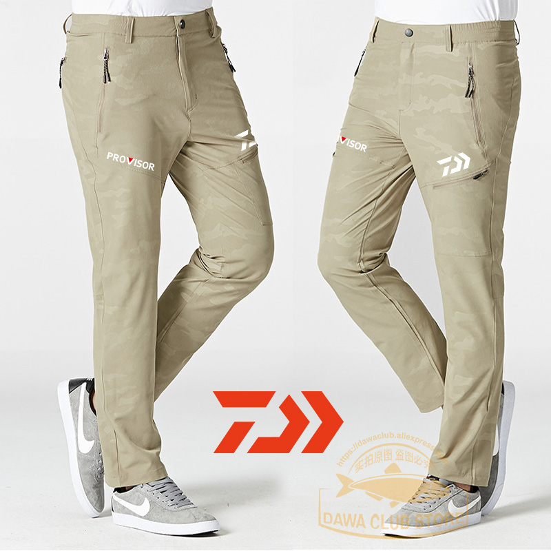 2020 Spring Camouflage Fishing Pants Men Trousers Sun Protection Anti-UV Sunshade Pants  Spring Outdoor Breathable Fishing Pants
