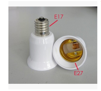 E17 Lamp Socket E17 to E27 LED Halogen CFL Light Bulb Lamp Adapter UK STOCK Light Lamp Holder Adapte Converter Holder