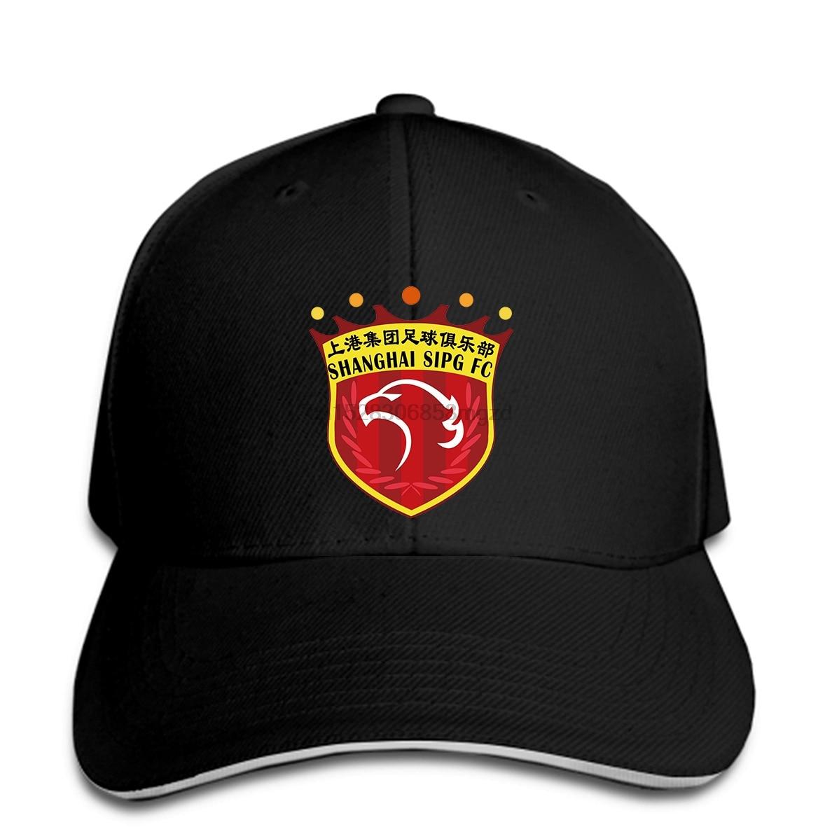 Shanghai Sipg F.c. Football Club Chinese Super League Soccer Team Men Baseball Cap Snapback Cap Women Hat Peaked