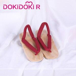 Image 2 - Dokidoki r Demon Slayer: Kimetsu no Yaiba zapatos de Cosplay Nezuko Tanjirou Kochou Shinobu Demon Slayer: Kimetsu no Yaiba Cosplay
