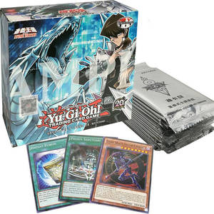 Game-Collection Cards-Toys Yugioh-Cards Gi-Oh Anime for Boys Girls Brinquedo 240pcs/Set