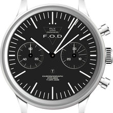 MERKUR FOD Fliger PILOT Mechanical Chronograph Mens Watch Ty