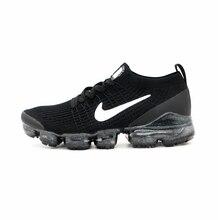 Air VaporMax – baskets de sport pour hommes, chaussures de marche classiques respirantes, couleur noire, originales