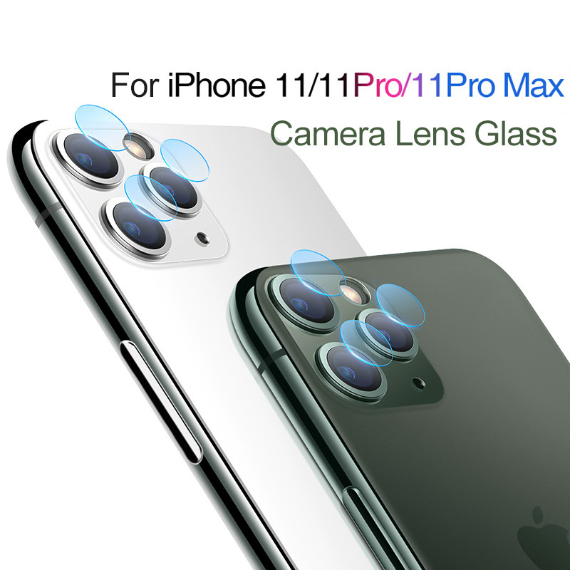 9H Hard Tempered Explosion Proof Camera Lens Protector For IPhone 11 Pro Max Ultra Slim Phone Lens Glass For IPhone 11 Pro