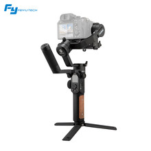 FeiyuTech AK2000S 3-Axis Handheld Gimbal Stabilizer Portable Vlog Gimbal with LCD Touch Panel Handle for Mirrorless DSLR Cameras(China)