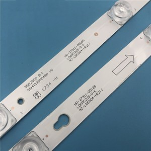 Image 2 - LED Backlight strip Lamp For TCL L55P2 UD YHE 4C LB5504 YH01J LVU550CS0T 4C LB5505 HR04J LB5504 HR13J B55A858U L55F3800A