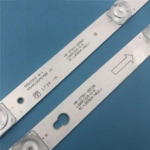 Image 2 - Retroiluminación LED lámpara de tira para TCL L55P2 UD YHE 4C LB5504 YH01J LVU550CS0T 4C LB5505 HR04J LB5504 HR13J B55A858U L55F3800A