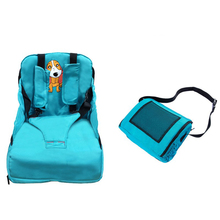 Children Portable Booster Seats Baby Feeding Baby Dining Chair Bag Infant Feeding Seat Portable Folding Traveling Baby Seat baby sofa adjustable children childs infant portable seat chair memory foam breast feeding crate box armchair sofa bed folding