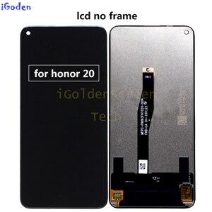 Image 2 - Original Display für Huawei Ehre 20 YAL L21 LCD Touch Screen Digitizer Ersetzen Für Huawei Ehre 20 Pro YAL AL10 YAL L41 LCD