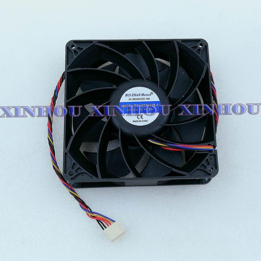 BTC BCH Bitcoin Miner Fan Cooling 14cm Fan for ASIC miner WhatsMiner M20S M21S 3