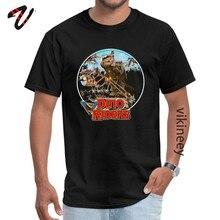 Dino rider – t-shirt à manches maltais pour homme, col rond, Design, Sans manches, vente en gros, été/automne