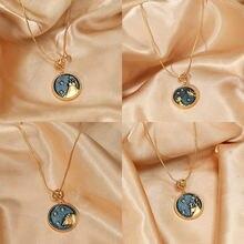 12 гороскоп созвездие ожерелье с подвеской для женщин в дневное