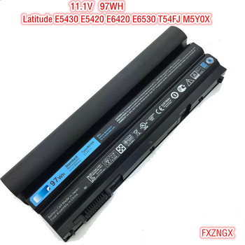 11.1V 97WH New Original M5Y0 M5Y0X Battery for Dell Latitude E5430 E5420 E5520 E5430 E6420 E6530 T54FJ M5Y0X Battery 9Cell