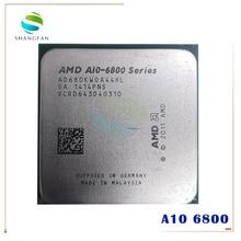 AMD A serisi A10 6800K A10 6800 A10 6800K A10 6800B 4.1Ghz 100W dört çekirdekli İşlemci işlemci AD680KWOA44HL/AD680BWOA44HL soket FM2