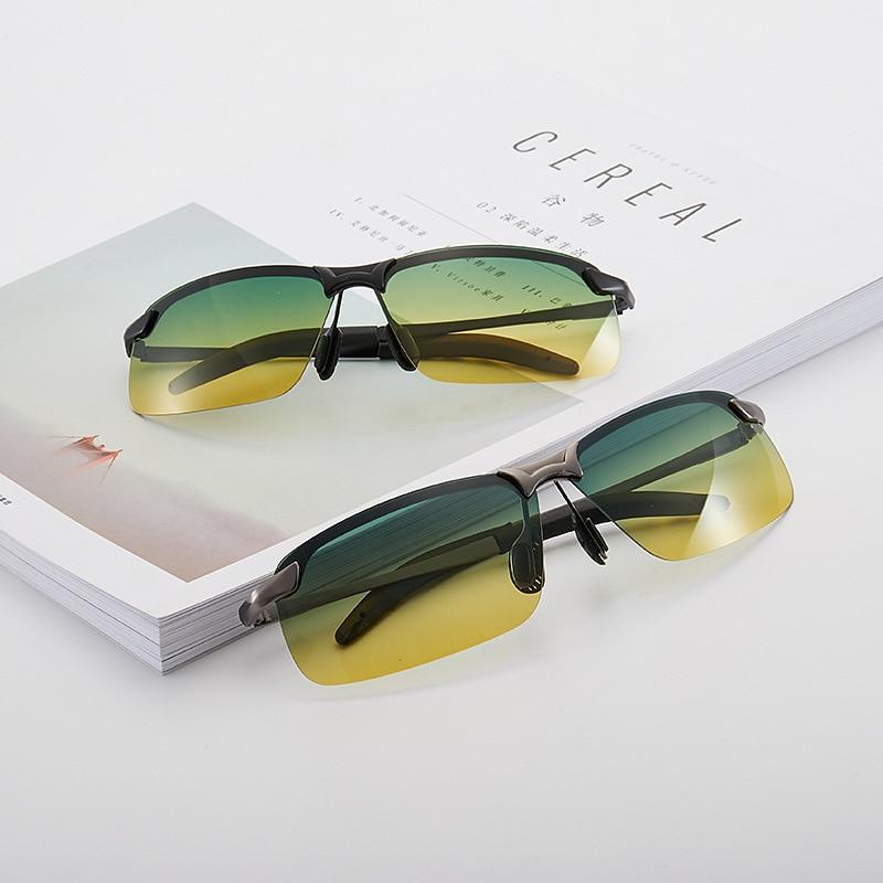 Мужские и женские очки ночного видения, очки для вождения, поляризационные желтые солнцезащитные очки для вождения Мужские солнцезащитные очки      АлиЭкспресс