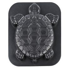 Tool Concrete Cement Outdoor Stepping Stone Manual Reusable Black Driveway Turtl