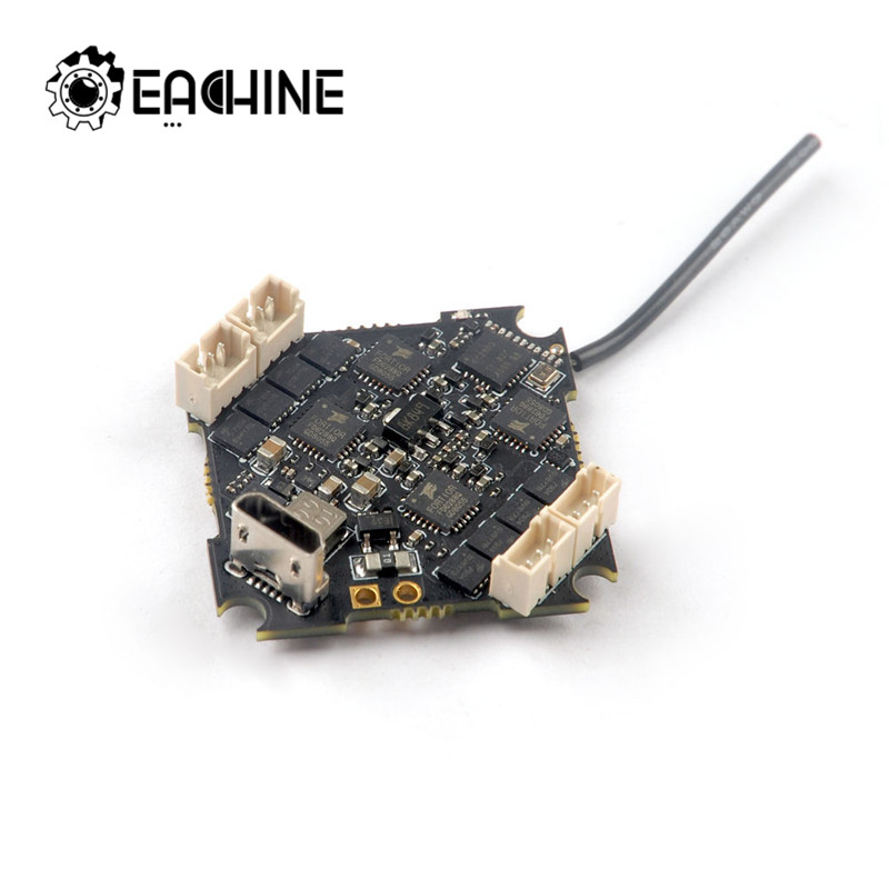 eachine crazybee f4 pro controlador de voo v3 0 10a 2 brushless esc receptor compativel para
