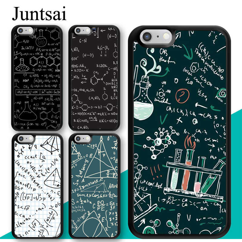 Brains Geek Science Math Physics Formulas Case For iphone 11 12 Pro Max mini XR XS MAX X 5S SE 2020 6S 7 8 Plus Cover Coque