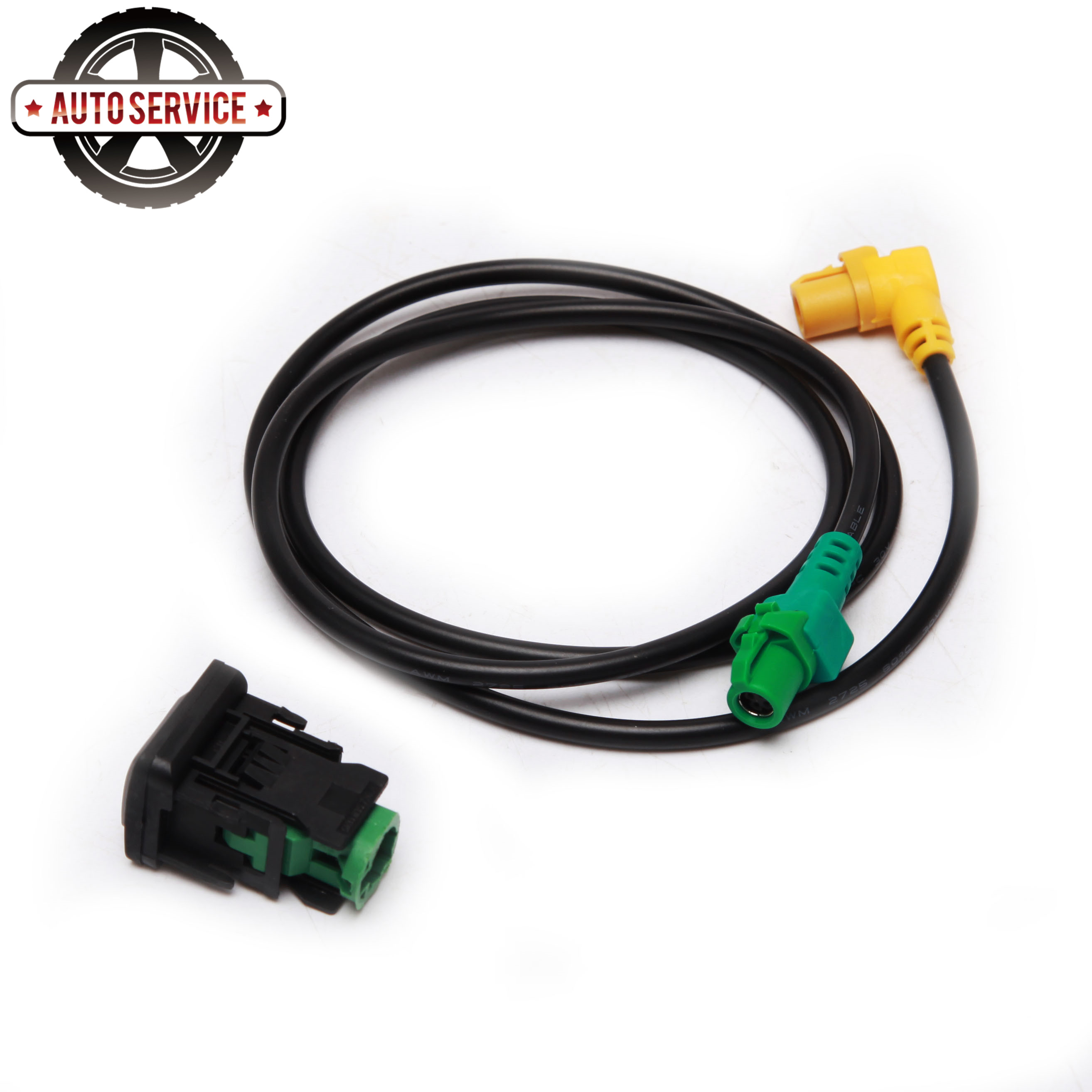 Original 5KD 035 726 A <font><b>USB</b></font> Input <font><b>USB</b></font> Socket <font><b>Adapter</b></font> & Cable Plug For <font><b>VW</b></font> Passat <font><b>Golf</b></font> <font><b>5</b></font>/6 Jetta RCD510 RCD310 RNS315 5KD 035 726 A image