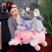 Cute Cartoon Elephant Plush Toys Stuffed Animal Elephant Doll Toy Plush Pillow Children Toy Girls Birthday Gift creative cute cartoon deer short plush toy stuffed animal plush doll toys children birthday