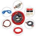 1 комплект  автомобильный аудио провод  комплект проводов  кабель для автомобильного динамика  автоматический усилитель мощности  аудио лин...