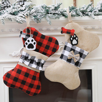 2020 Gift Bag Holiday Party Birthday Decoration Supplies New Products Christmas Pet Socks Christmas Ornaments Home Decorations image